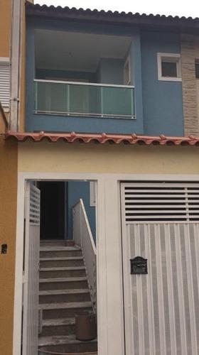 sobrado residencial à venda, vila camilópolis, santo andré. - so0448