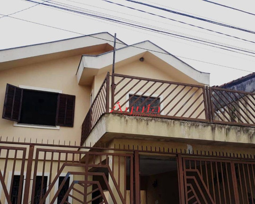 sobrado residencial à venda, vila camilópolis, santo andré. - so0878