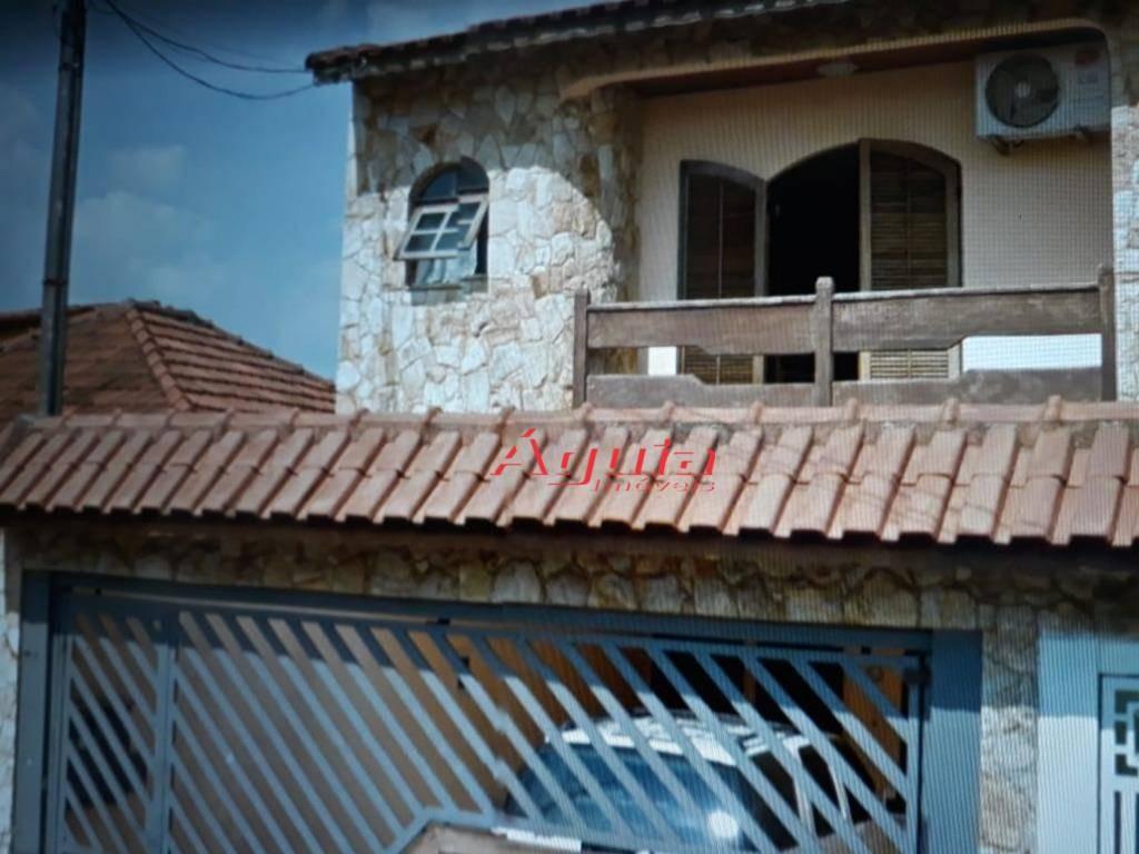 sobrado residencial à venda, vila camilópolis, santo andré. - so0883