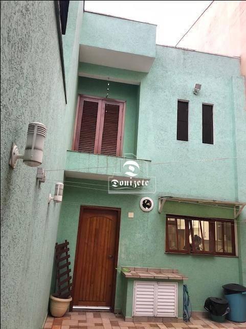 sobrado residencial à venda, vila curuçá, santo andré - amplo e moderno - estuda imóvel - so0331