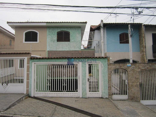 sobrado residencial à venda, vila ema, são paulo. - so0093