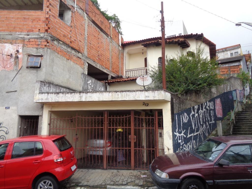 sobrado residencial à venda, vila formosa, são paulo. - so1214
