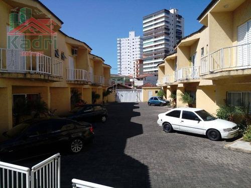 sobrado residencial à venda, vila guilhermina, praia grande. - so0023