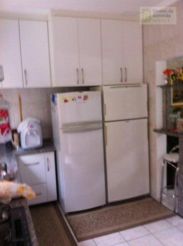 sobrado residencial à venda, vila humaitá, santo andré - so0263. - so0263