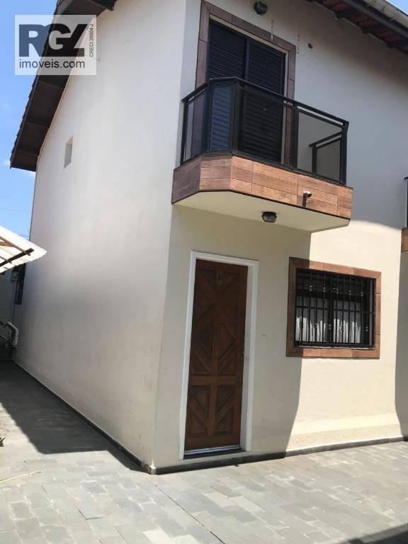 sobrado residencial à venda, vila ligya, guarujá. - so0083