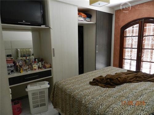 sobrado residencial à venda, vila nhocune, são paulo. - codigo: so0640 - so0640