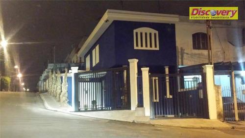 sobrado  residencial à venda, vila paulista, guarulhos. - so0341