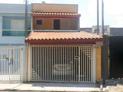 sobrado  residencial à venda, vila valparaíso, santo andré. - so0730