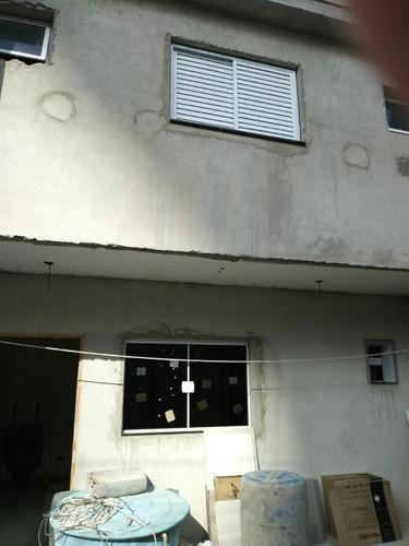 sobrado residencial à venda, vila valparaíso, santo andré. - so0964