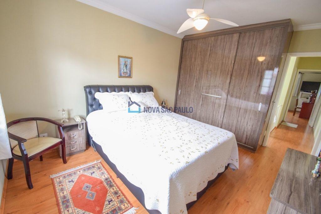 sobrado v. campestre, 3 dormitórios,e escritório  a 15 min do metrô, quintal, 2 vagas grandes . - bi25507