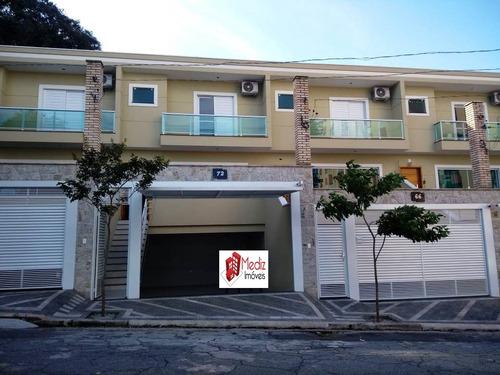 sobrado à venda, 100 m², 3 quartos, 3 banheiros, 1 suíte - 9759