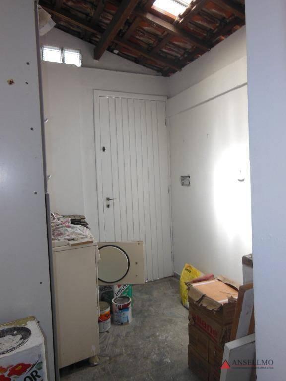 sobrado à venda, 110 m² por r$ 385.000,00 - casa branca - santo andré/sp - so0540