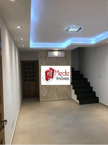 sobrado à venda, 120 m², 3 quartos, 3 banheiros, 1 suíte - 9383