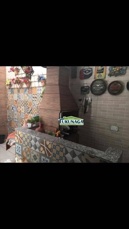 sobrado à venda, 125 m² por r$ 389.000,00 - jardim terezópolis - guarulhos/sp - so0319