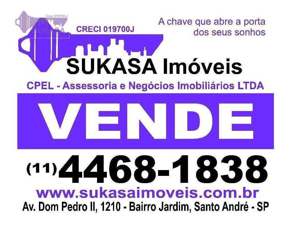 sobrado à venda, 140 m² por r$ 371.000,00 - vila alzira - santo andré/sp - so0087