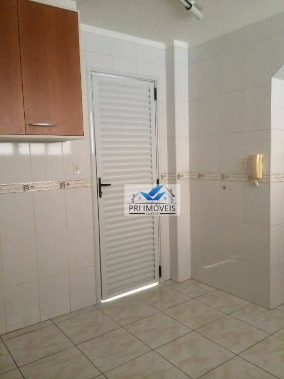 sobrado à venda, 142 m² por r$ 915.000,00 - campo grande - santos/sp - so0008