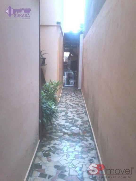 sobrado à venda, 156 m² por r$ 460.000,00 - vila alzira - santo andré/sp - so0090