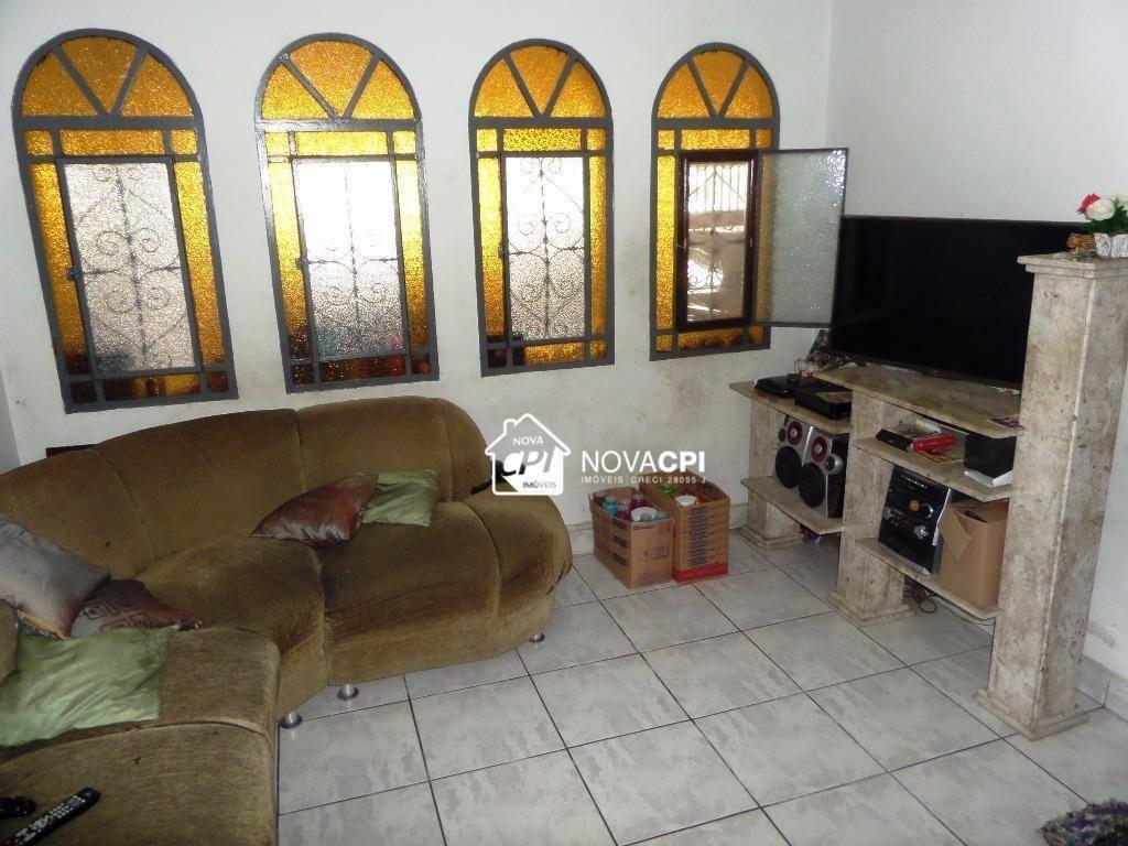 sobrado à venda, 160 m² por r$ 450.000,00 - boqueirão - praia grande/sp - so0032