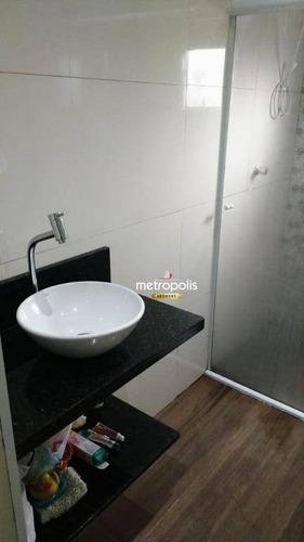 sobrado à venda, 175 m² por r$ 245.000,00 - cooperativa - são bernardo do campo/sp - so0494