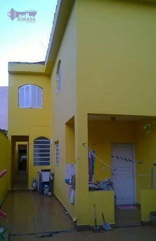 sobrado à venda, 194 m² por r$ 690.000,00 - são josé - são caetano do sul/sp - so0315
