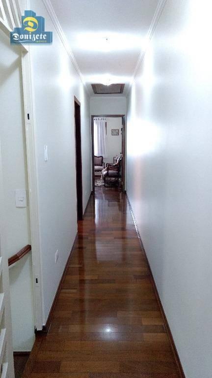sobrado à venda, 242 m² por r$ 750.000,00 - vila floresta - santo andré/sp - so1783