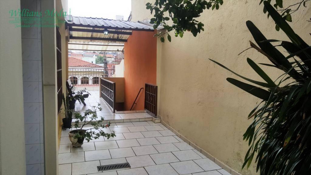 sobrado à venda, 260 m² por r$ 690.000,00 - vila galvão - guarulhos/sp - so1598
