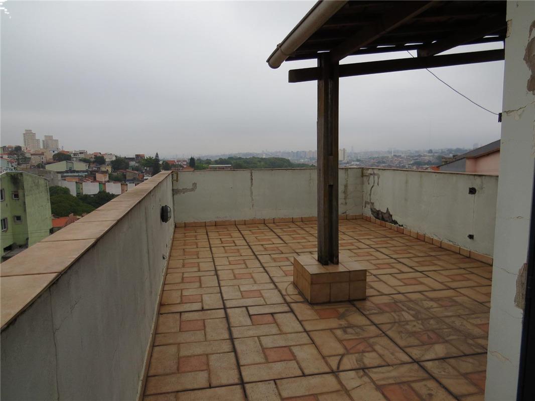 sobrado à venda, 3 quartos, 1 vaga, utinga - santo andré/sp - 65557