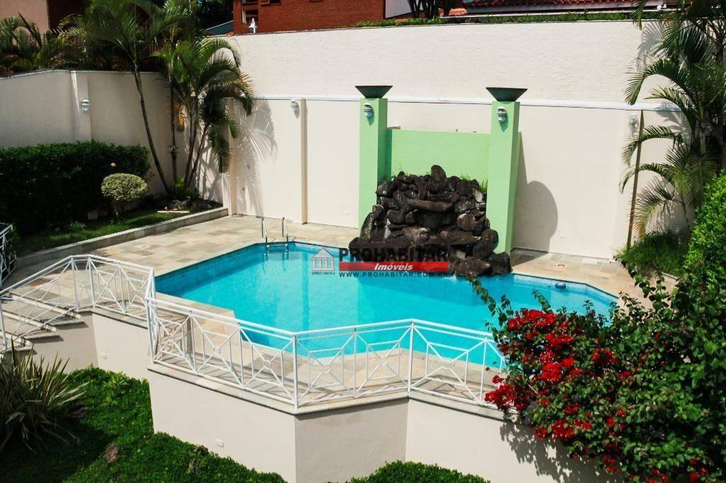 sobrado à venda, 432 m² por r$ 1.800.000,00 - interlagos - são paulo/sp - so2733