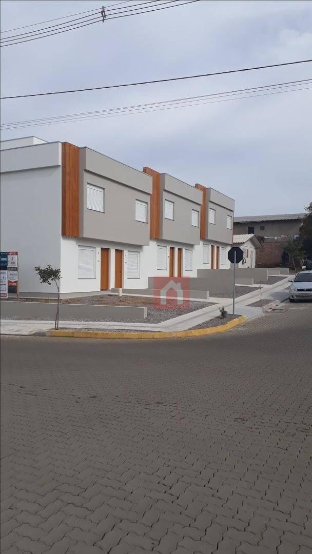 sobrado à venda, 62 m² por r$ 199.900,00 - santa catarina - farroupilha/rs - so0021