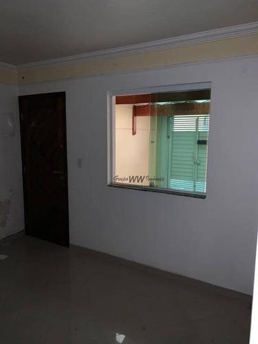 sobrado à venda, 68 m² por r$ 429.000,00 - vila constança - são paulo/sp - so1478