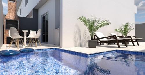 sobrado à venda com piscina em itanhaém. 397