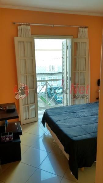 sobrado à venda em condomínio fechado no bairro nova petrópolis em são bernardo - 5456