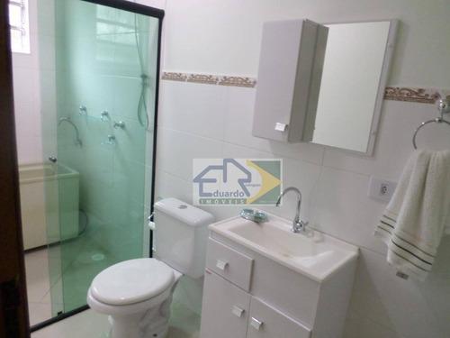 sobrado/loft com 1 dormitório para alugar, 110 m² por r$ 1.500/mês - chácaras ceres - suzano/sp - so0101