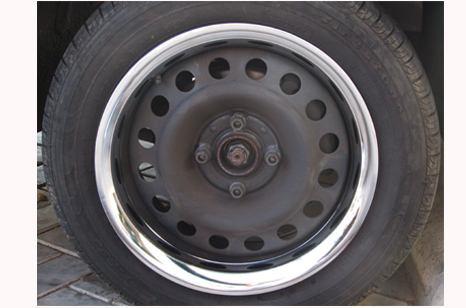 sobre aro metal p rodas aro 14 - opala maverick fusca
