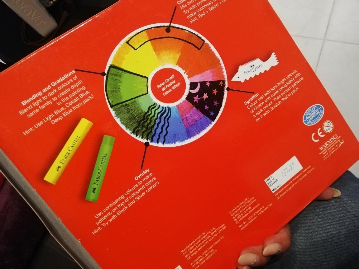 Sobre El Producto Los Pasteles Al Óleo Faber Castell De 50 P