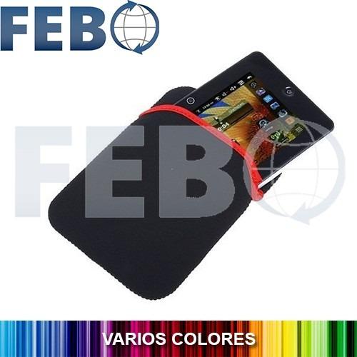 sobre funda protector neopreno para tablet 7'' hasta 21x14cm