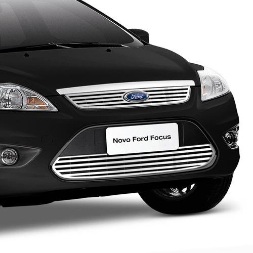 sobre grade ford focus 2009/2013 sup + inf filetes menor