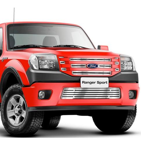sobre grade ford ranger 2010 2011 2012 sup + inf fusion 4x4