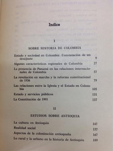 sobre historia y literatura por álvaro tirado mejia