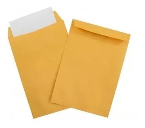sobre manila tamaño carta/oficio ( paq. 25 y 50 unds)