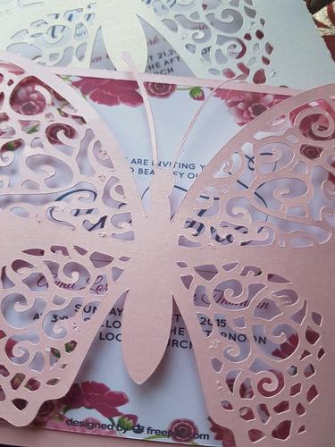 sobre mariposa