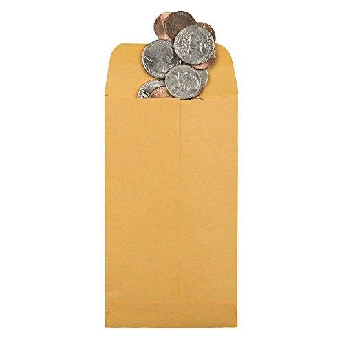 sobre nº 1 para monedas y piezas pequeñas con solapa engo