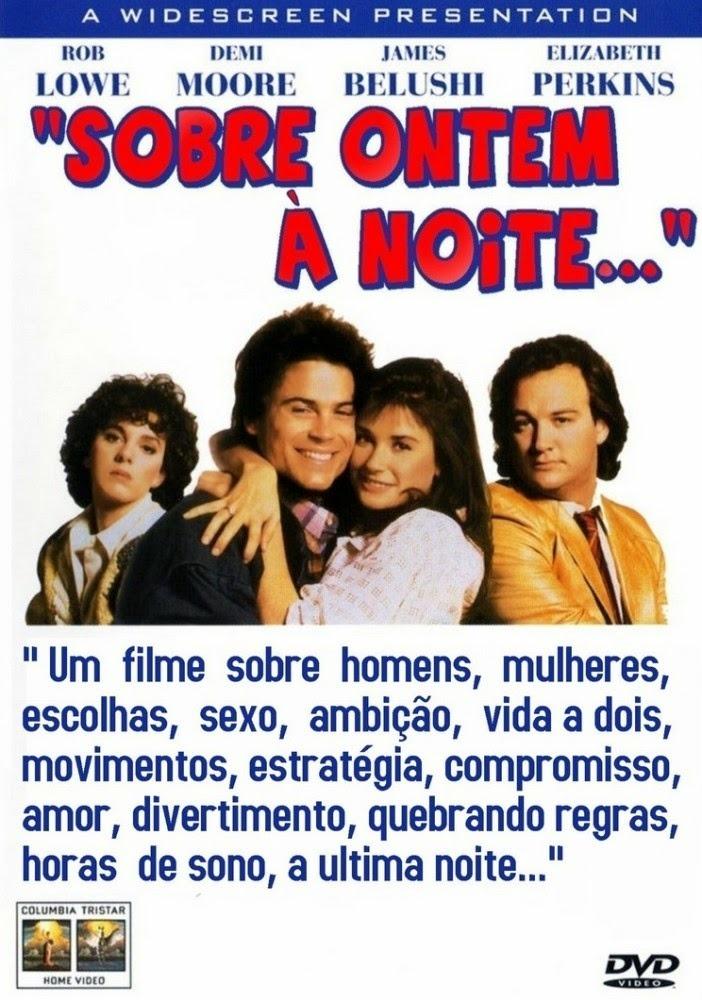 Sobre Ontem À Noite 1986 Demi Moore, Rob Lowe Dub / Leg. Dvd - R ...