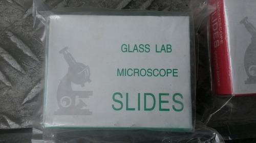 sobre placas vidrio muestra microscopio por 50 und