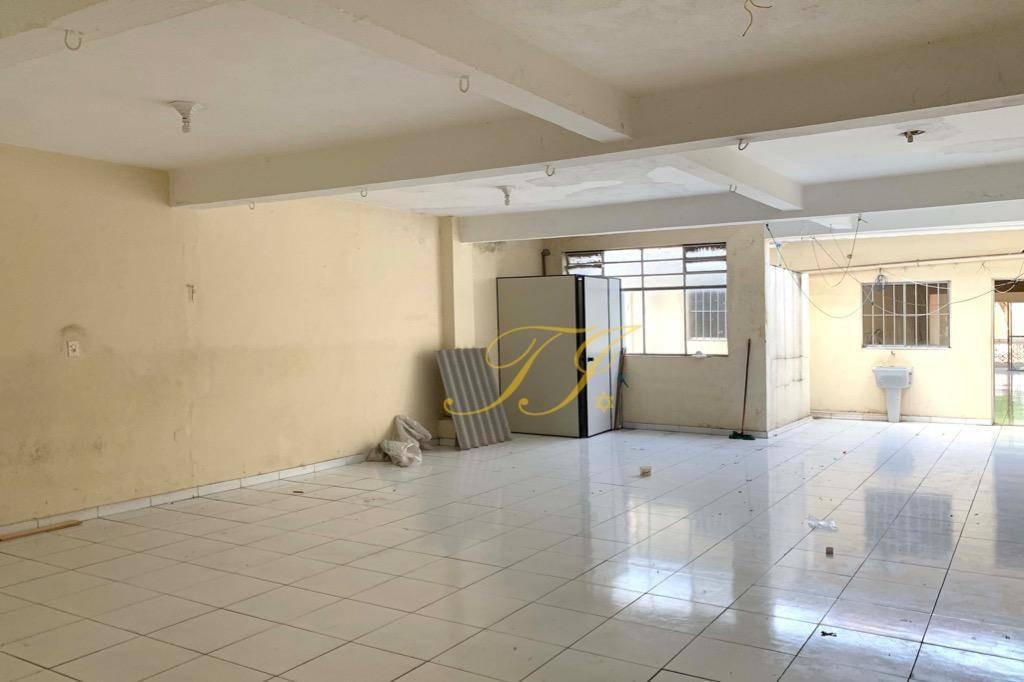 sobreloja comercial para alugar, 140 m² por r$ 2.000/mês - ponte grande - guarulhos/sp - sa0043