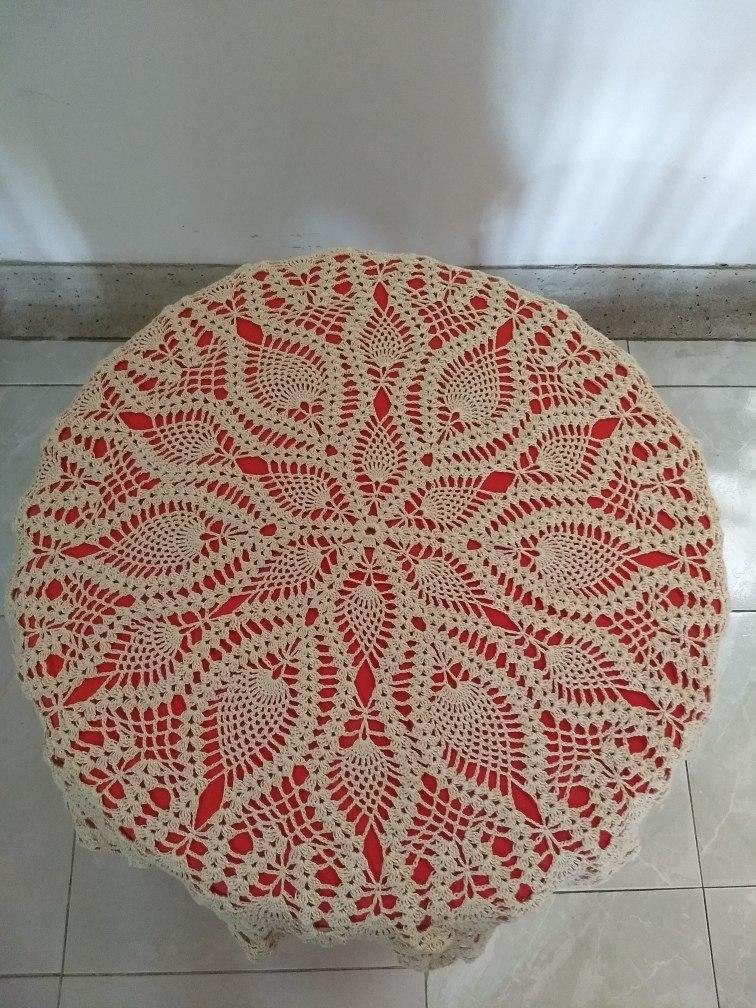Sobremantel En Crochet - $ 120.000 en Mercado Libre