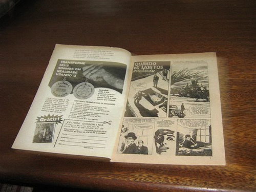 sobrenatural nº 4 ano:1973 editora gorrion