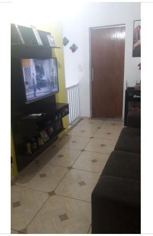 sobreposta alta com 2 dormitórios à venda, 75 m² por r$ 233.000 - vila nossa senhora de fátima - são vicente/sp - ca0762