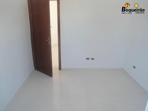 sobreposta nova de 2 dormitórios no tude bastos  - 2871