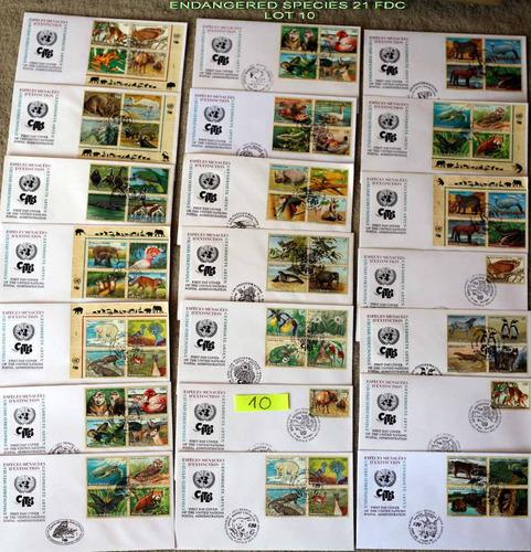 sobres 1er dia emision - lotes filatelia - naciones unidas